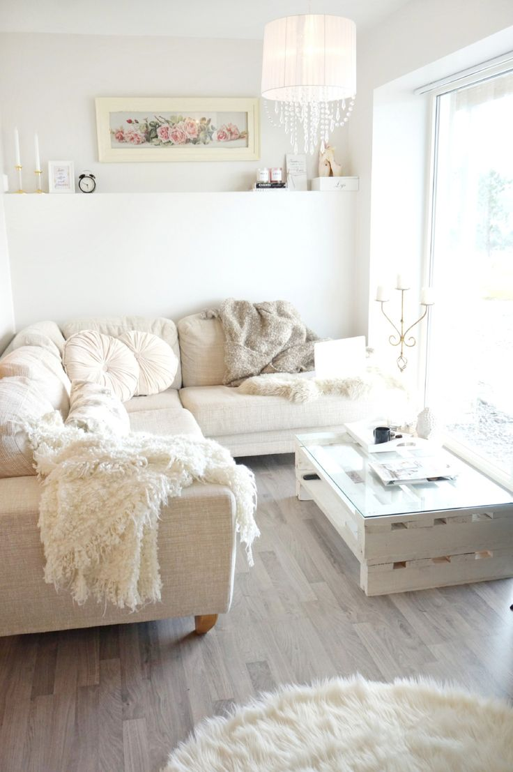 Pomys y na aran acje salonu sofy fashionable blog lifestylowy blog modowy blog - Gorgeous home interior decoration with various ikea white flooring ideas ...