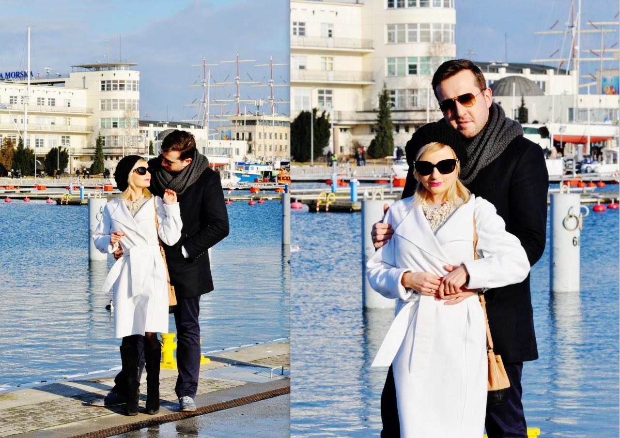 blog modowy blog urodowy blog fashionable blog lifestyle biały płaszcz