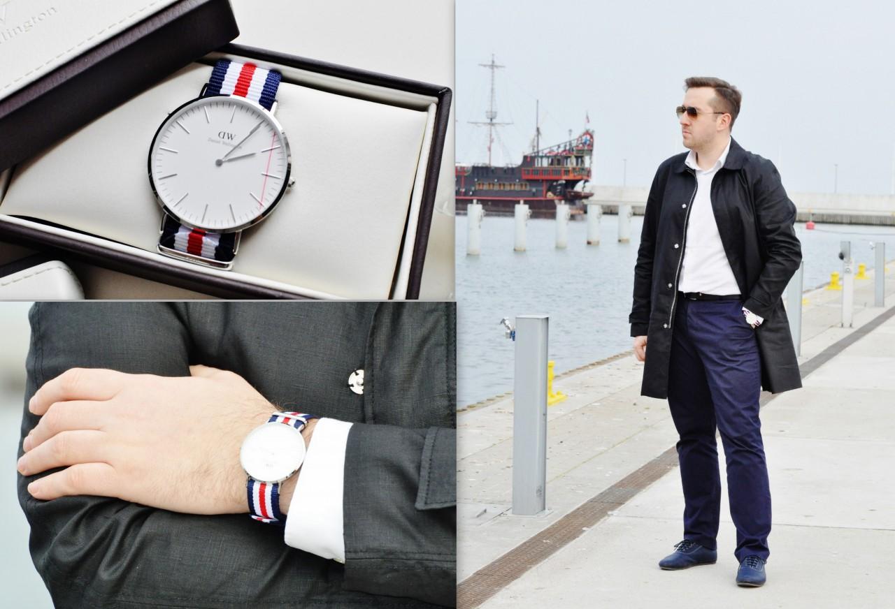 zegarek daniel wellington stylizacja