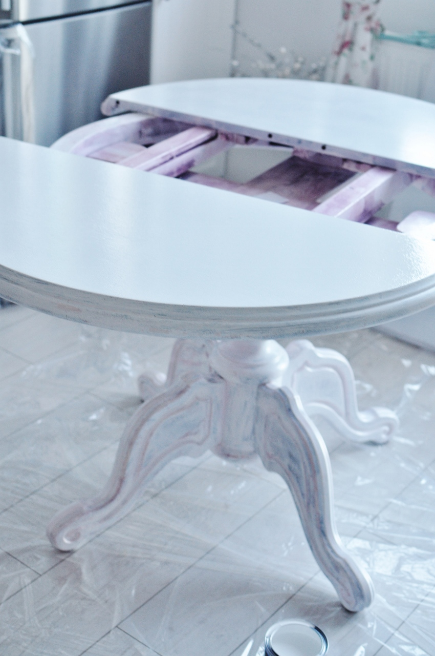 odnawianie stołu