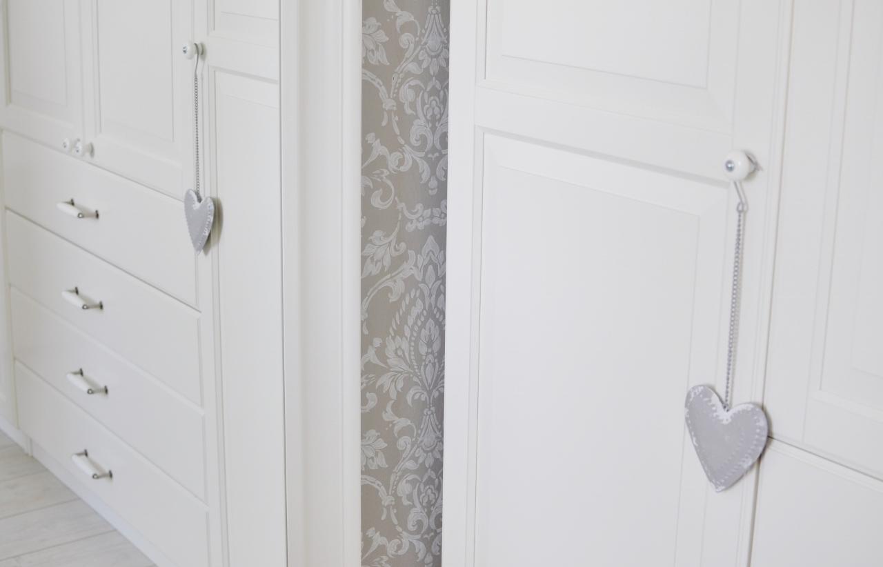 metoalowe serduszko szare dekoracja