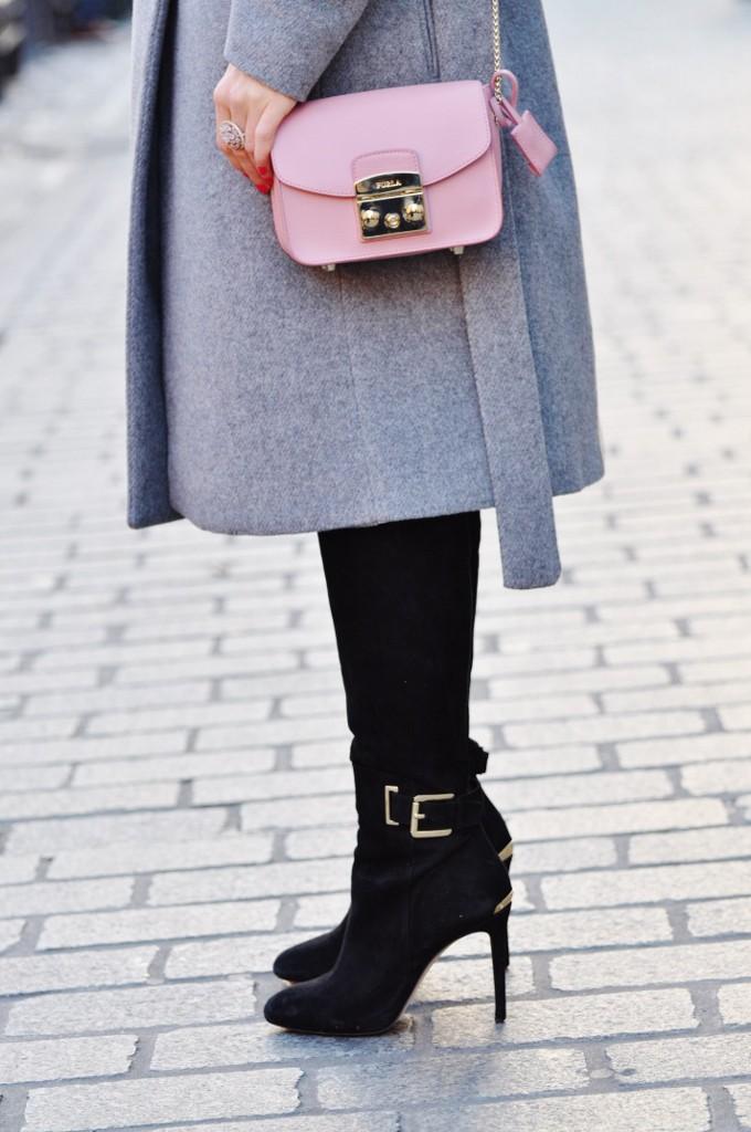 zamszowe kozaki Michael Kors Anna Zając blog moda lifestyle