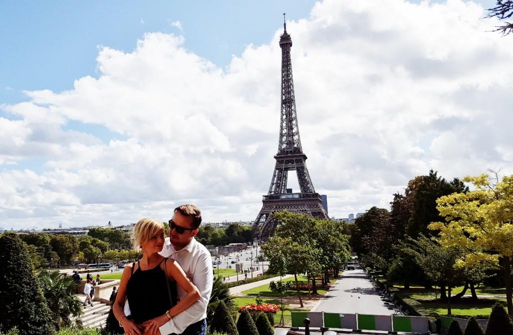 anna zając i jakub zając blog pary małżeński modowy urodowy podróżniczy paryż wieża eiffla dior