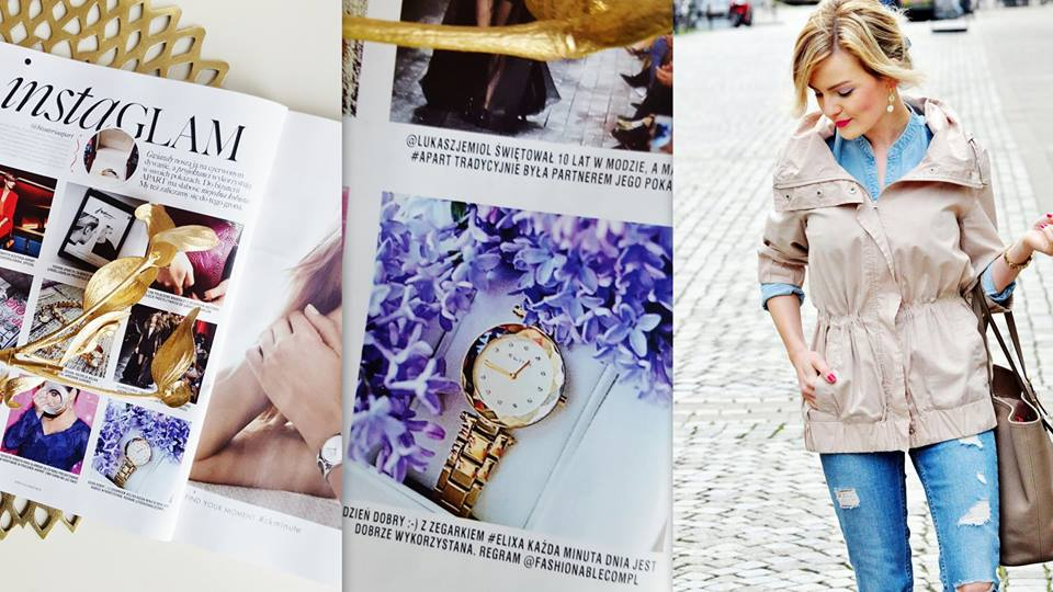 glamour elixa fashionable blog anna zając