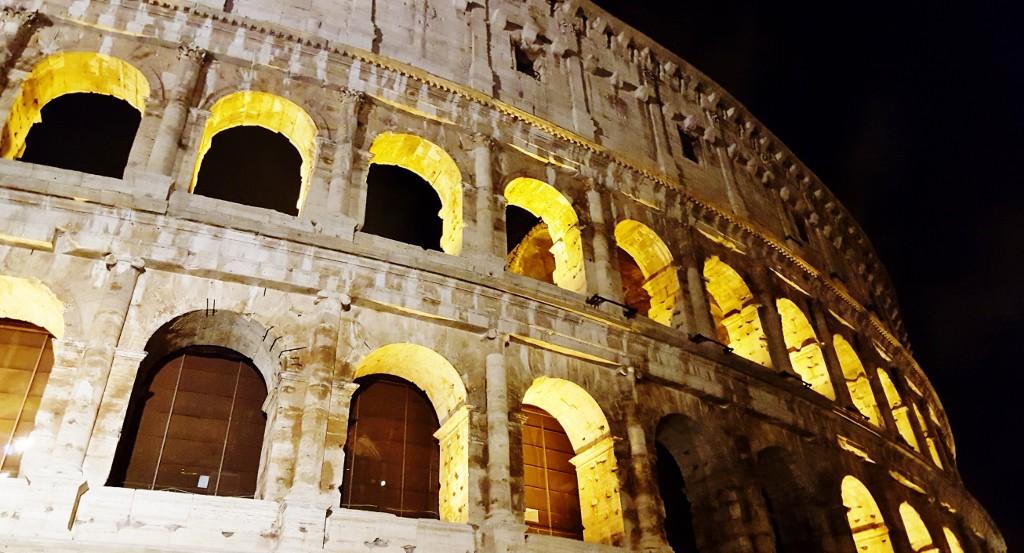 Koloseum Rzym zabytki 2