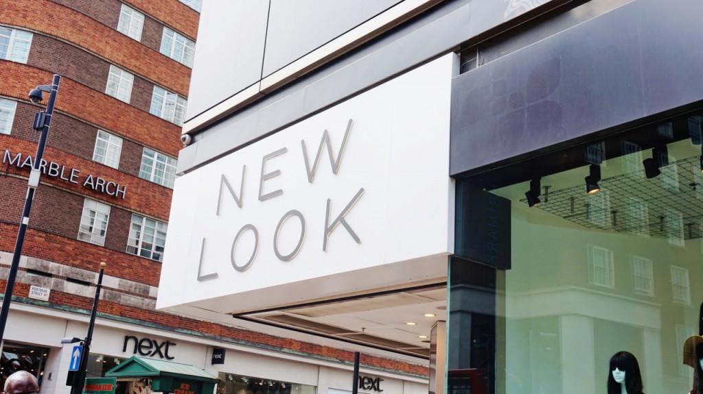 New look angielskie marki