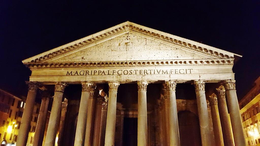 Panteon Rzym ciekawer miejsca w Rzymie