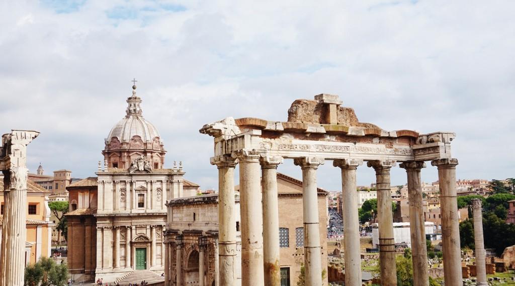 ruiny Forum Romanum