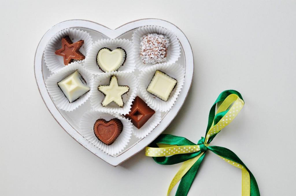 własnoręczny walentynkowy prezent czekoladki 2