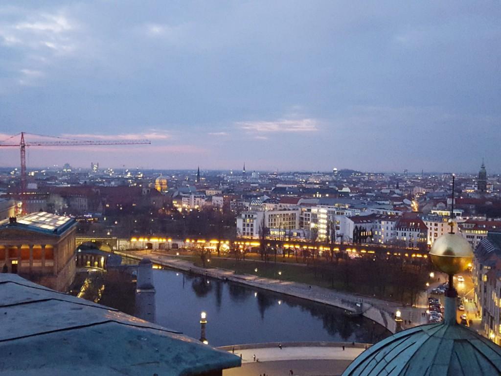 berlin widok na miasto z katedry