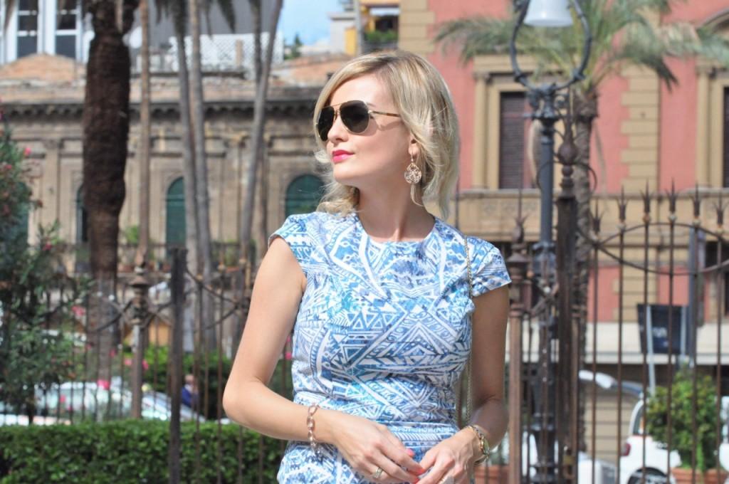 stylizacja niebieska sukienka blog modowy ania zając fashionable com pl21jpg