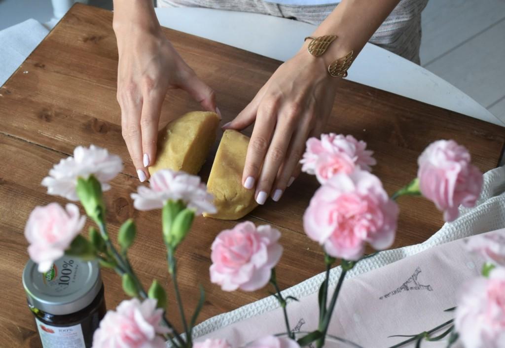 kruche rogaliki z dżemem truskawkowym Łowicz2