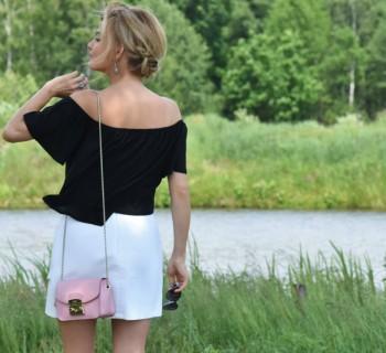 stylizacja Apart biała spódnica artelioni 5