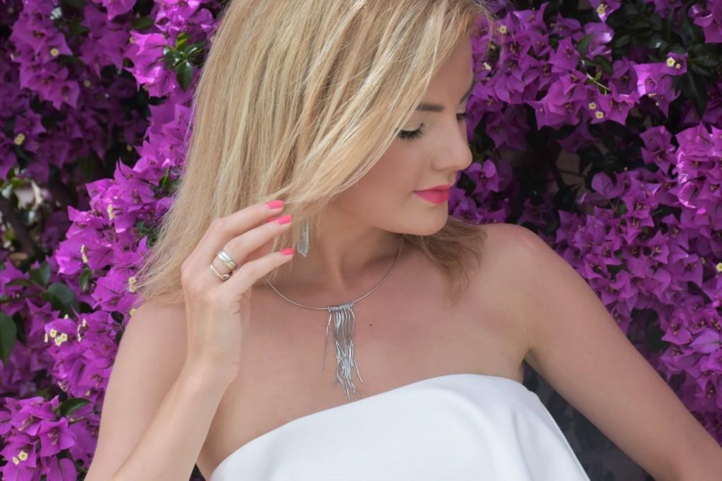 stylizacja nowoczesna panna młoda ślubna biżuteria W.KRUK15