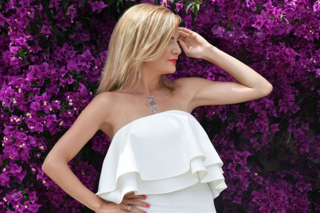 stylizacja nowoczesna panna młoda ślubna biżuteria W.KRUK7