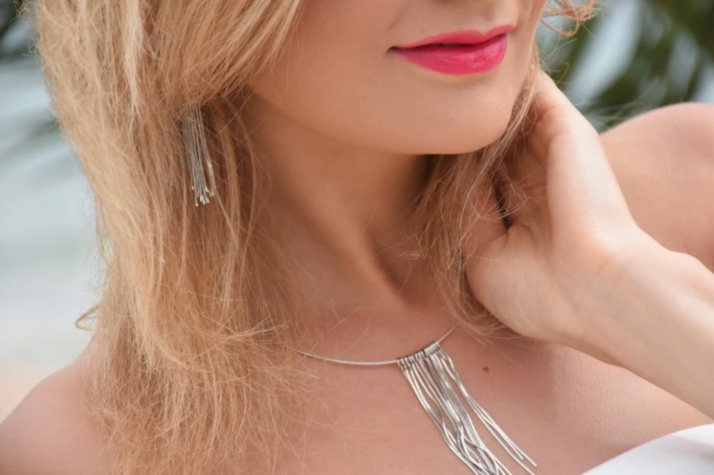 stylizacja nowoczesna panna młoda ślubna biżuteria W.KRUK80pg