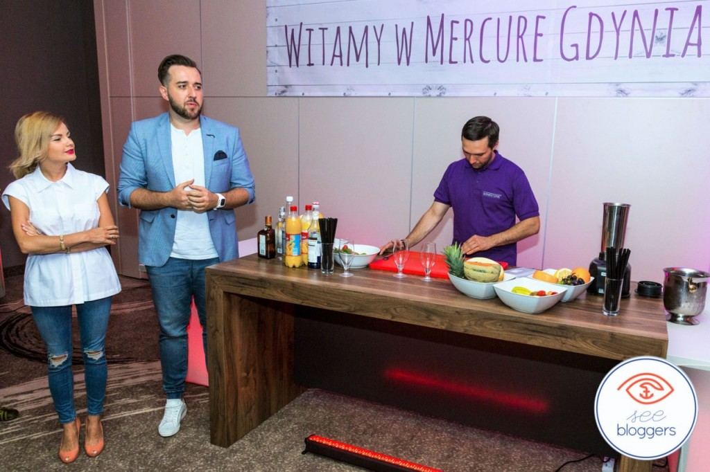 spotkanie dla prelegntów hotel mercure see bloggers