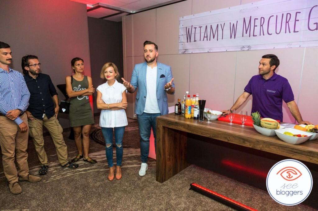 spotkanie dla prelegntów hotel mercure see bloggers2