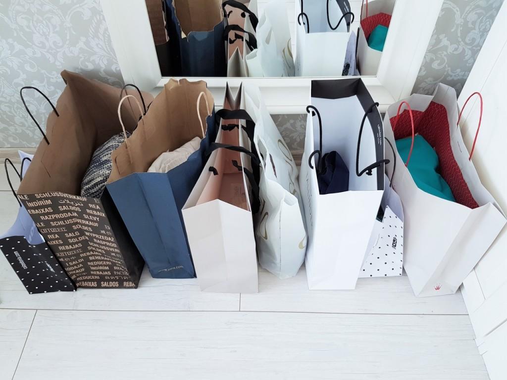 zakupy wyprzedaże blog lifestyle moda ania zając