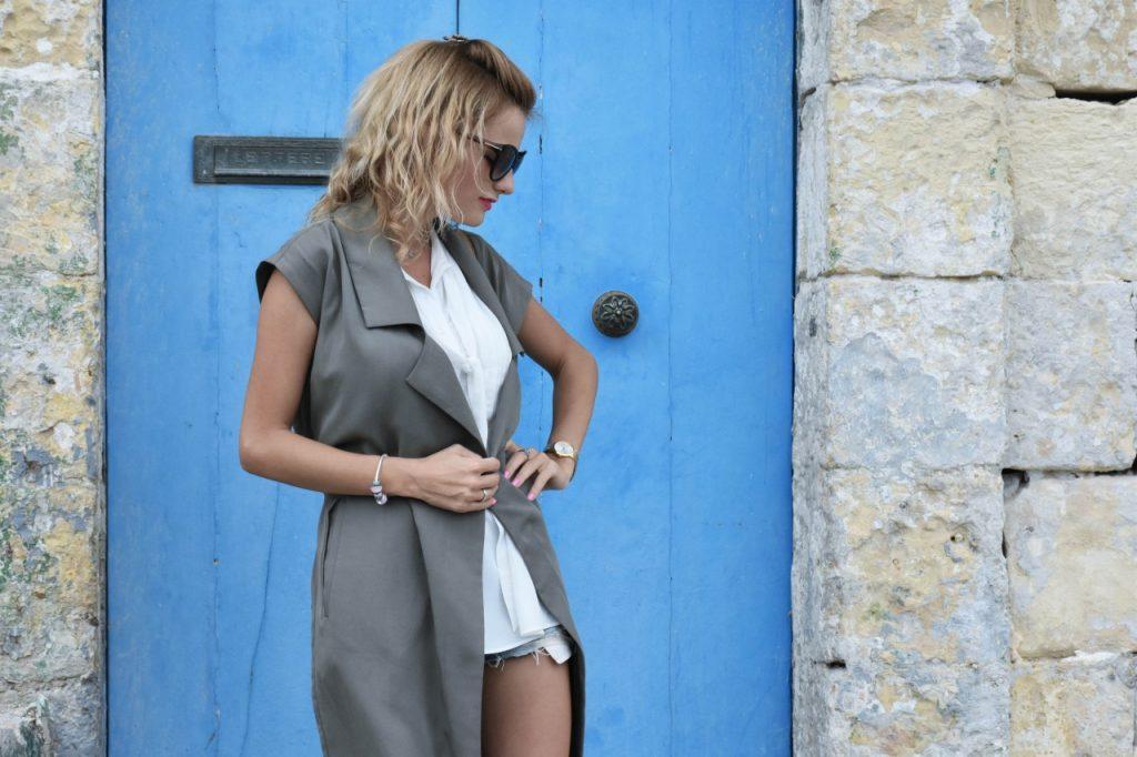 stylizacja-kamizelka-khaki-liu-jo-blog-modowy-lifestyle-malta15