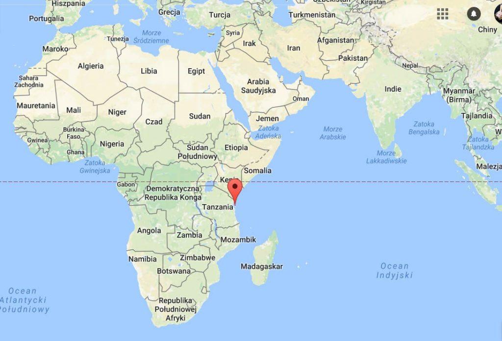 afryka zanzibar gdzie leży