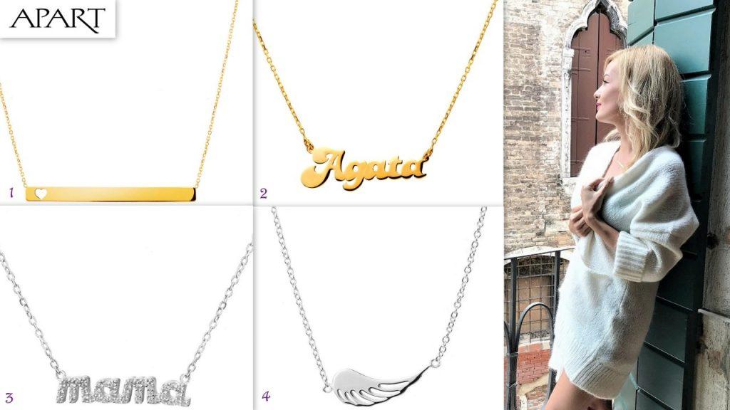 apart konkurs złote i srebrne łancuszki 22