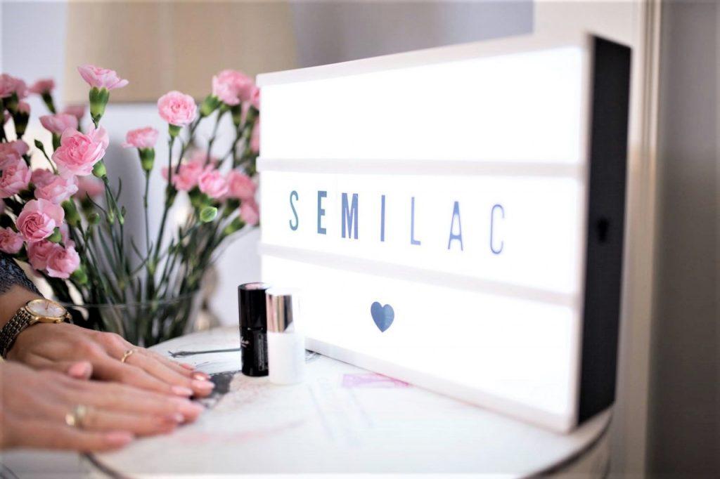 semilac manicure hybrydowy urodziny