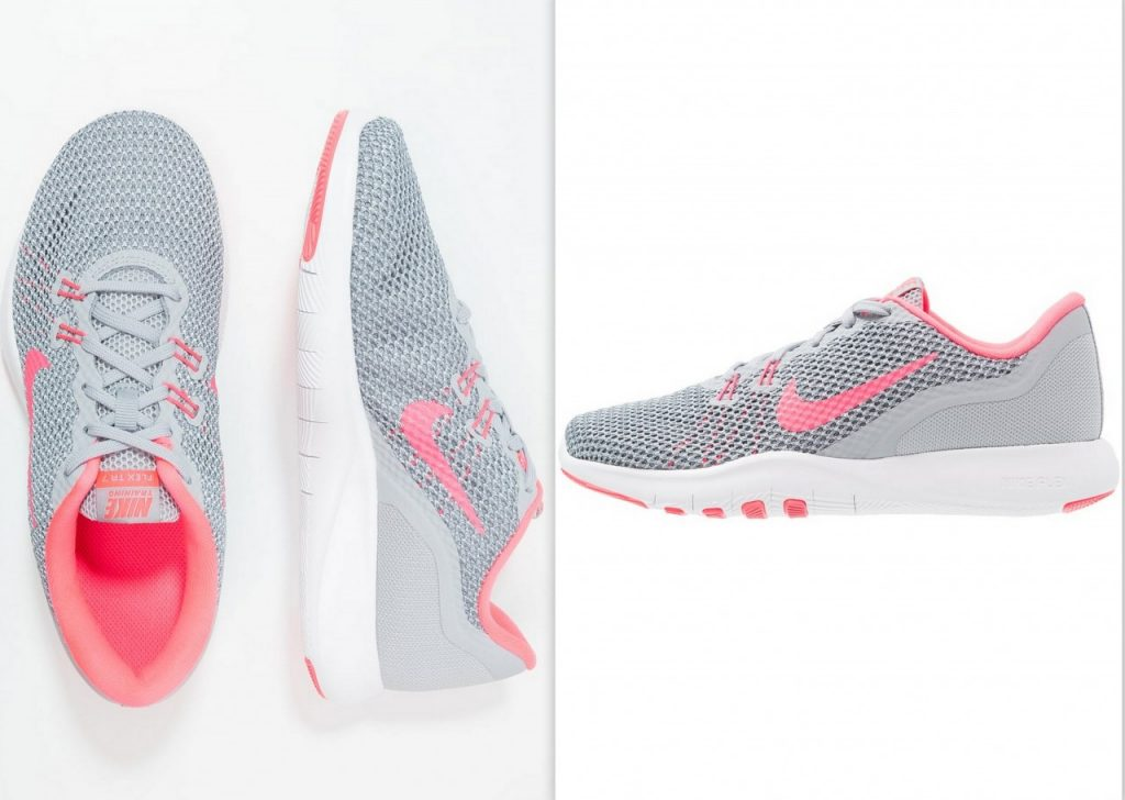 sportowe buty nike szare