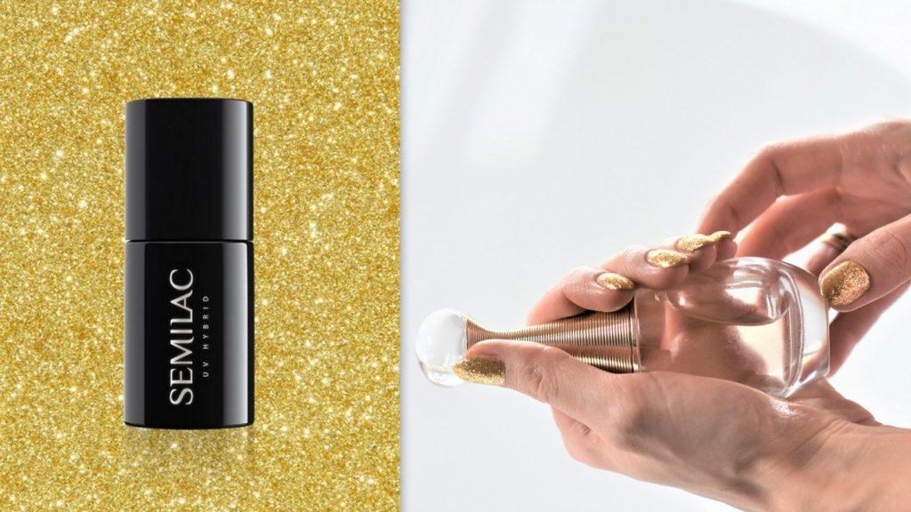złoty manicure 3