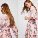 4 sukienka w kwiaty mango