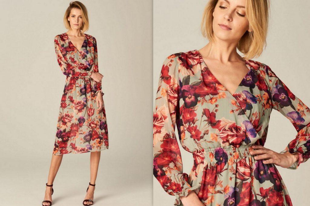 5 sukienka w kwiaty mohito trendy 2018