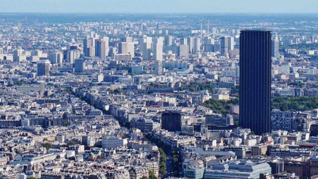 montparnasee wieża widokowa na paryż