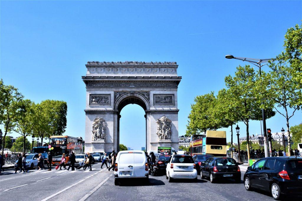 łuk triumfalny paryż 5