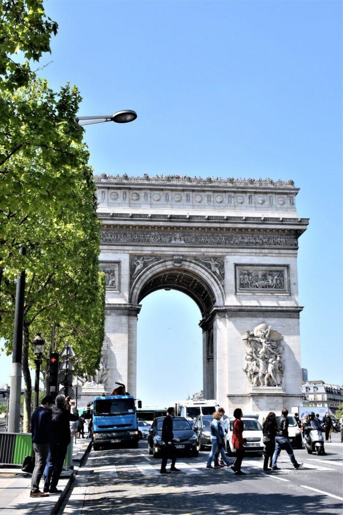 łuk triumflny paryż 3