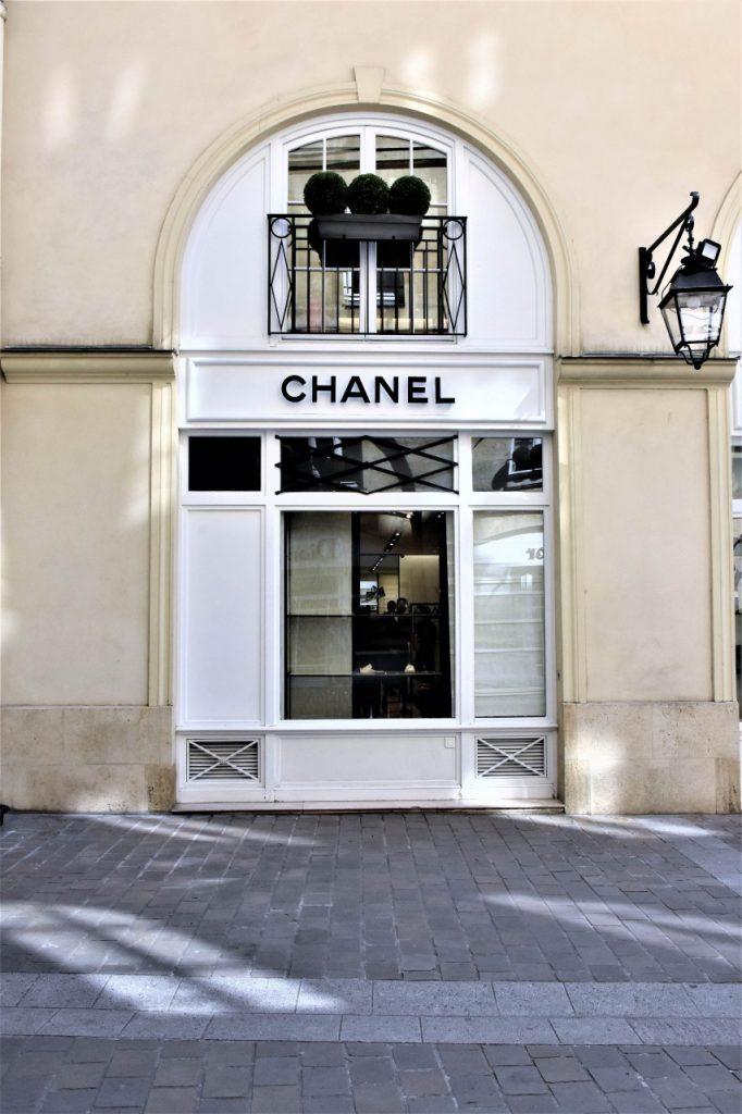 salon chanel paryż