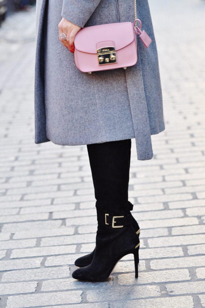 torebka furla różowa mediolan