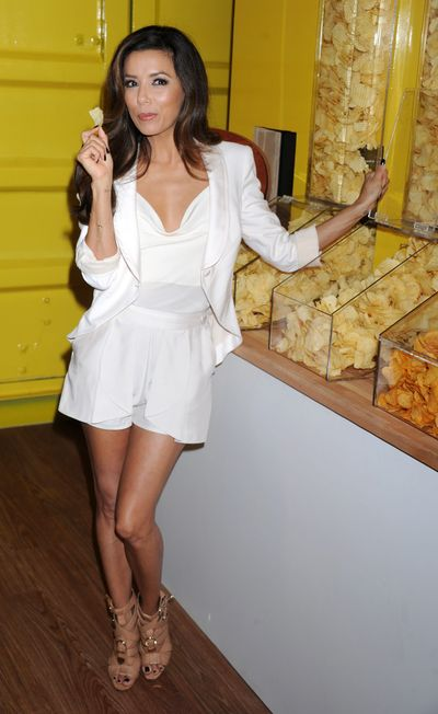 "Lay's ""Do Us A Flavor"" Contest Launch Hosted By Eva Longoria And Chef Michael Symon - New York"