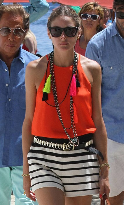 Valentino Olivia Palermo in Mykonos / source: naa