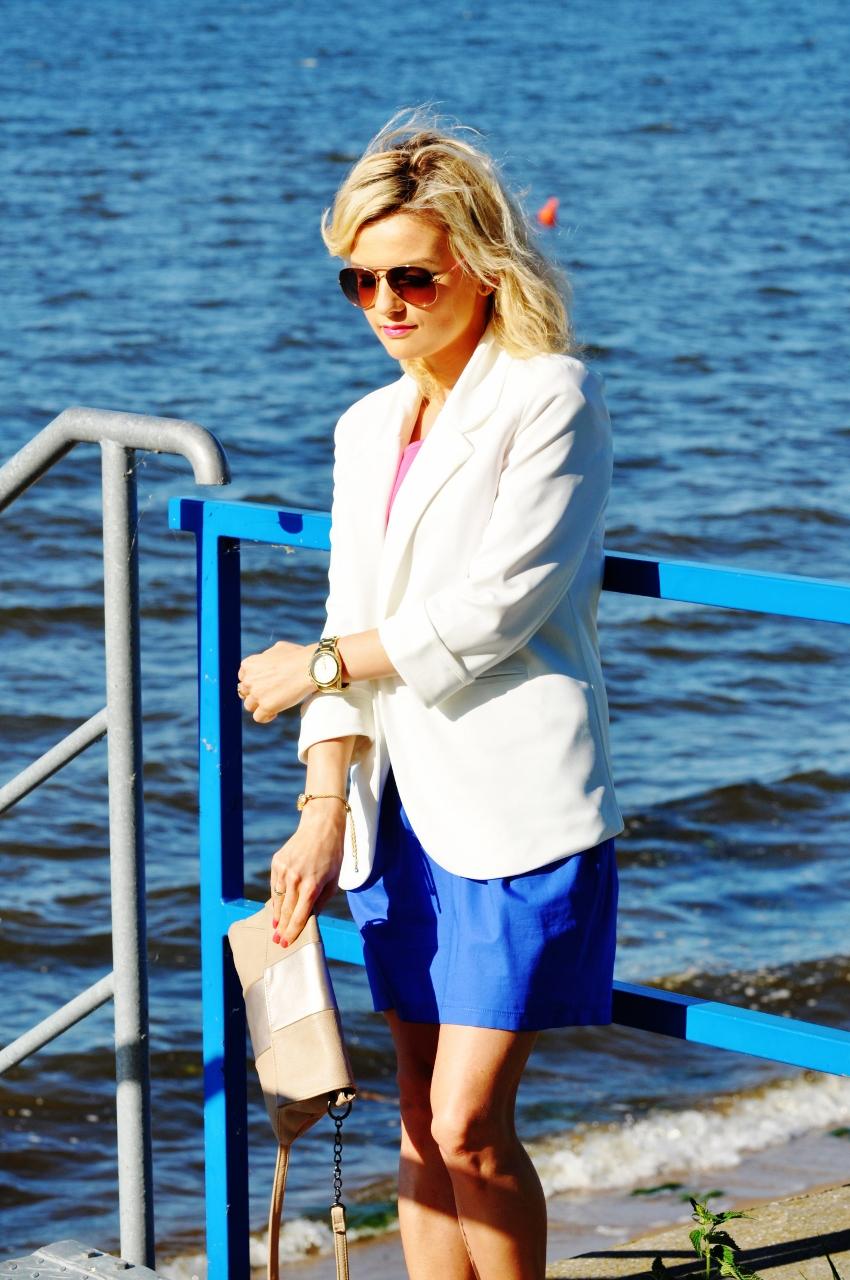 biała marynarka blog modowy