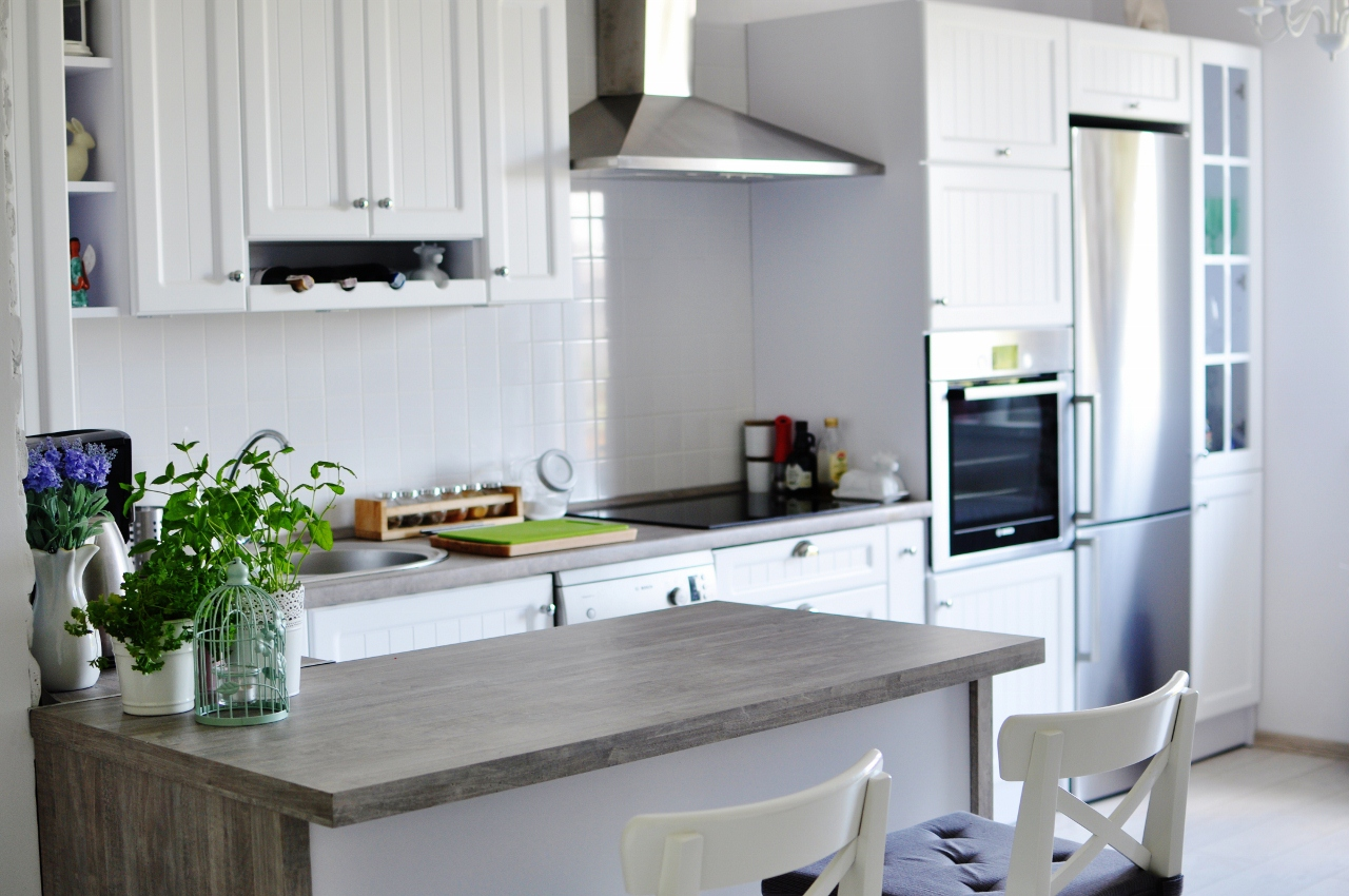 biała prowansalska kuchnia