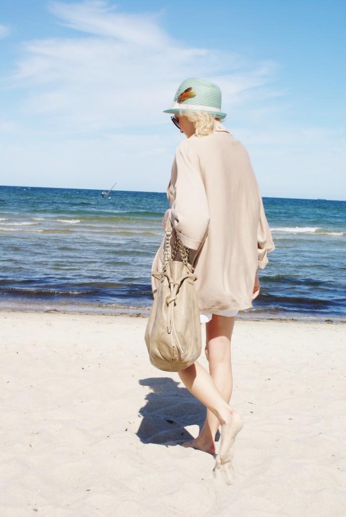 blog modowy morze kapelusz