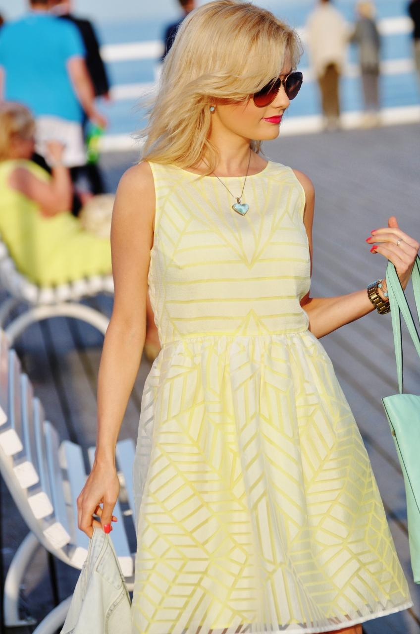 gdynia orłowo żółta sukienka