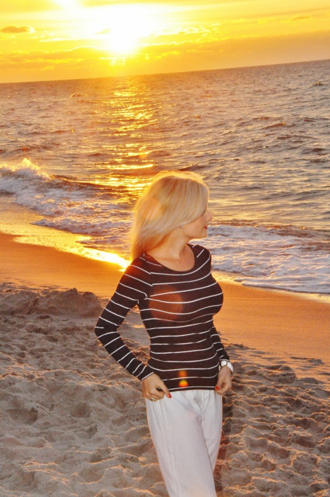 zachód słońca jastrzębia góra blog lifestylowy