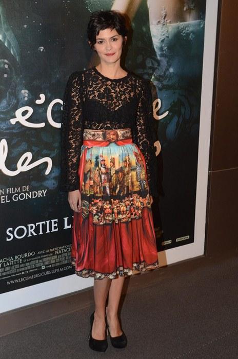 """Premiere du film """"L'Ecume des jours"""". SPE. Arnal"""
