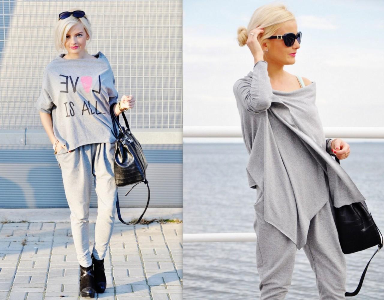 by insomnia spodnie szare lala pants blog moda blog lifestyle