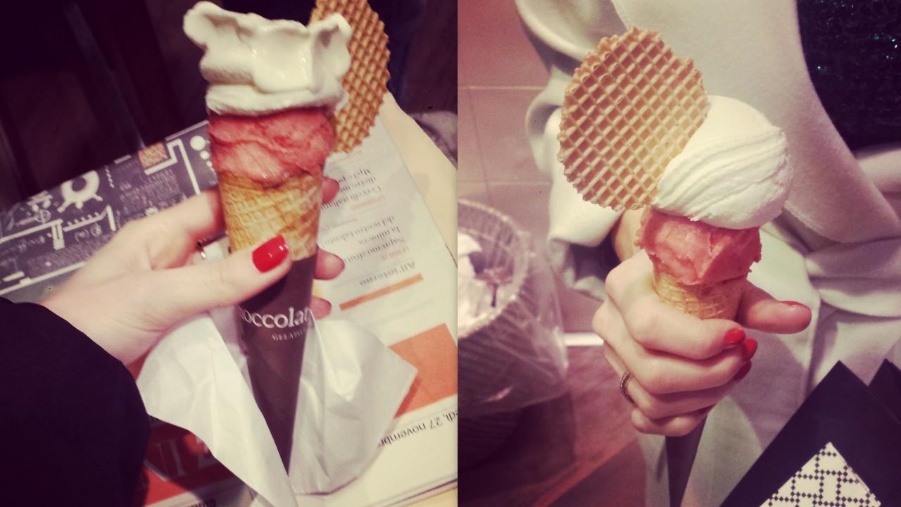 cioccolat italiani lody w mediolanie