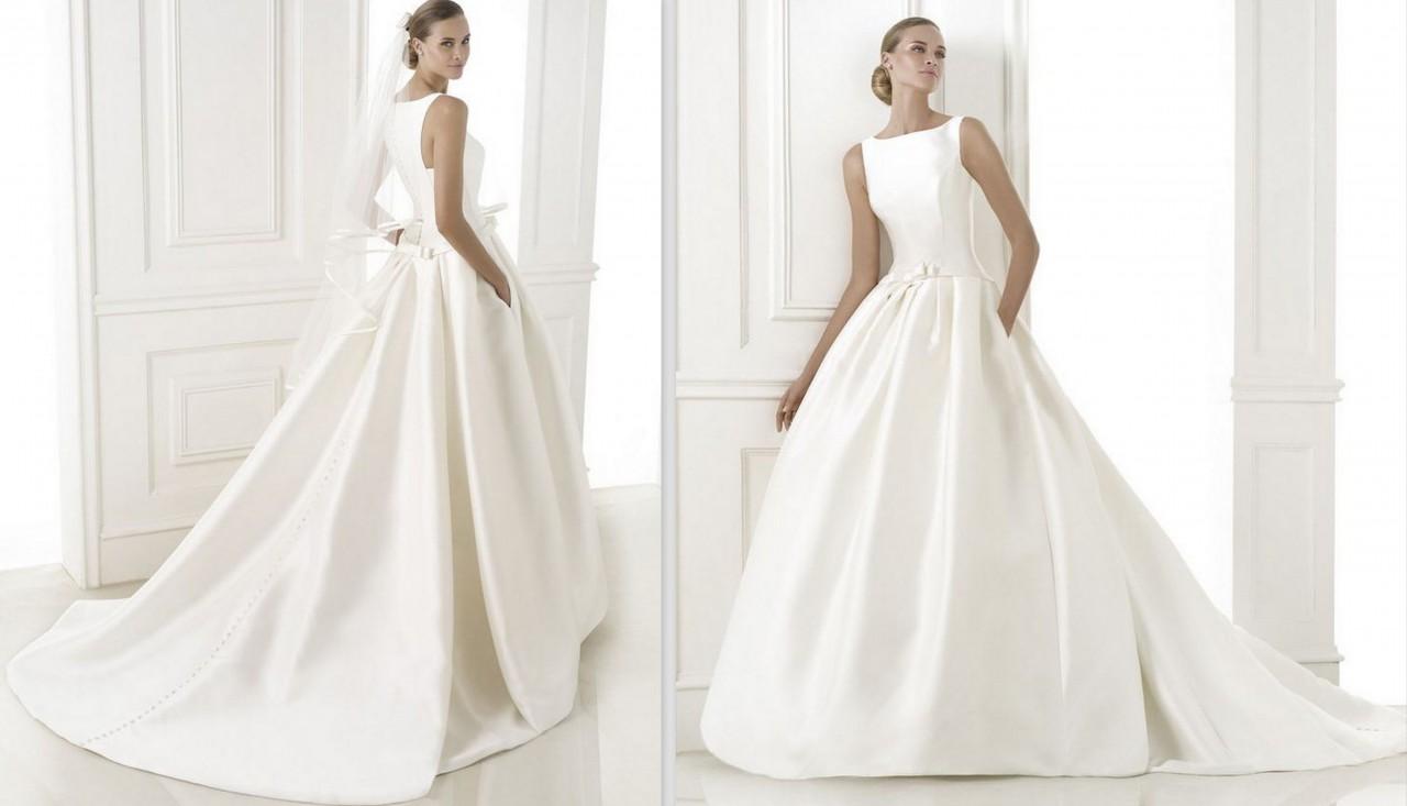 1 najpiękniejsze suknie ślubne rosa clara 2015