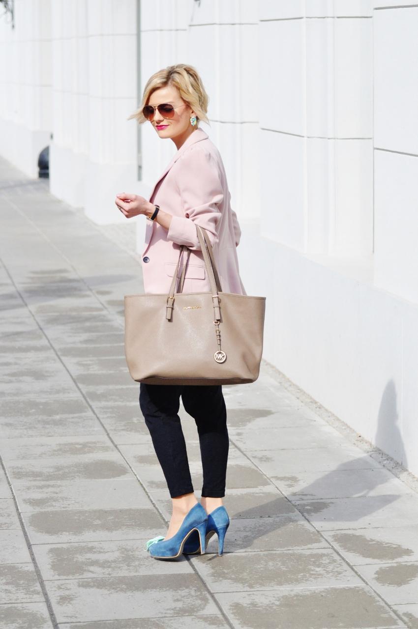 e121a1a891b30 Moja stylizacja - jak nosić marynarkę - Fashionable - Blog ...