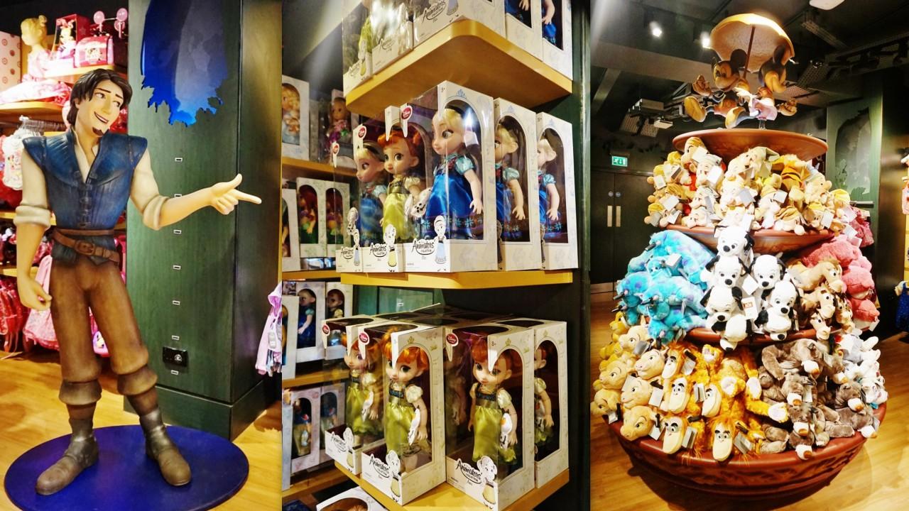 londyn sklep z zabawkami disney