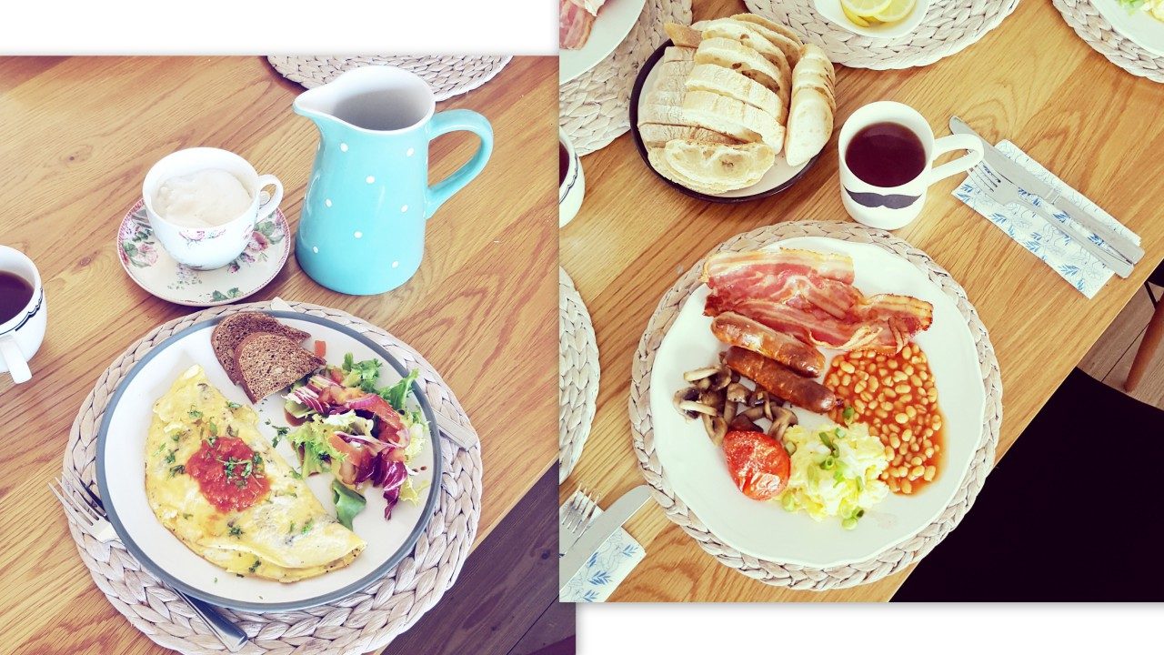 angielskie śniadanie manchester